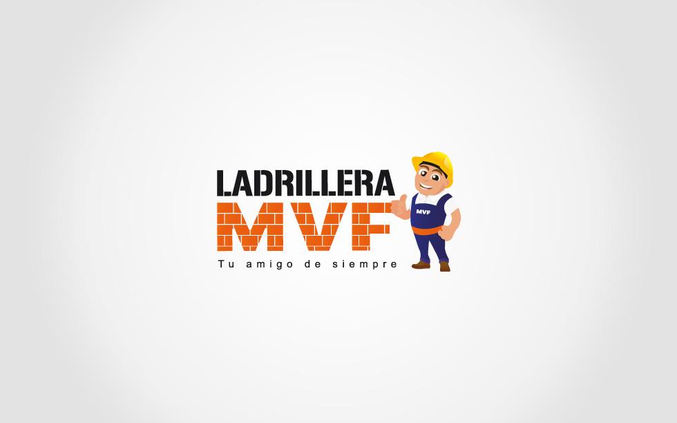diseño de logotipo ladrillera mvf